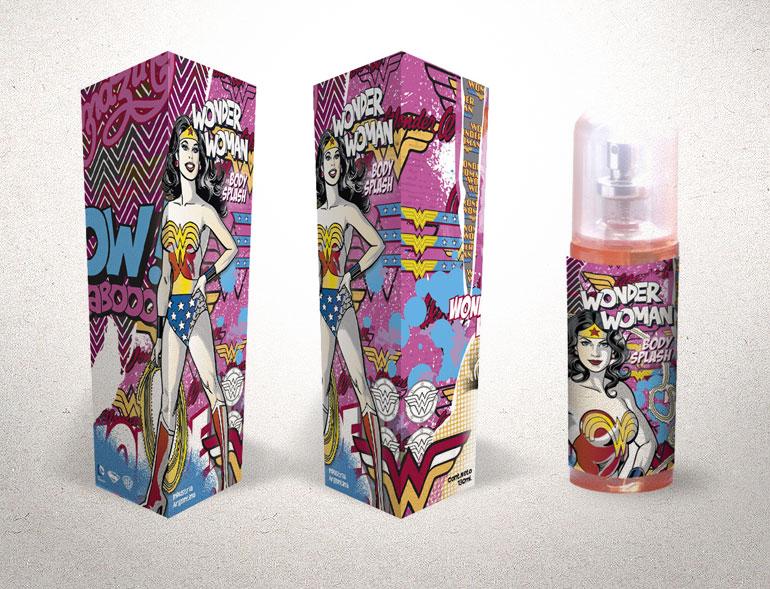 packaging mujer maravilla