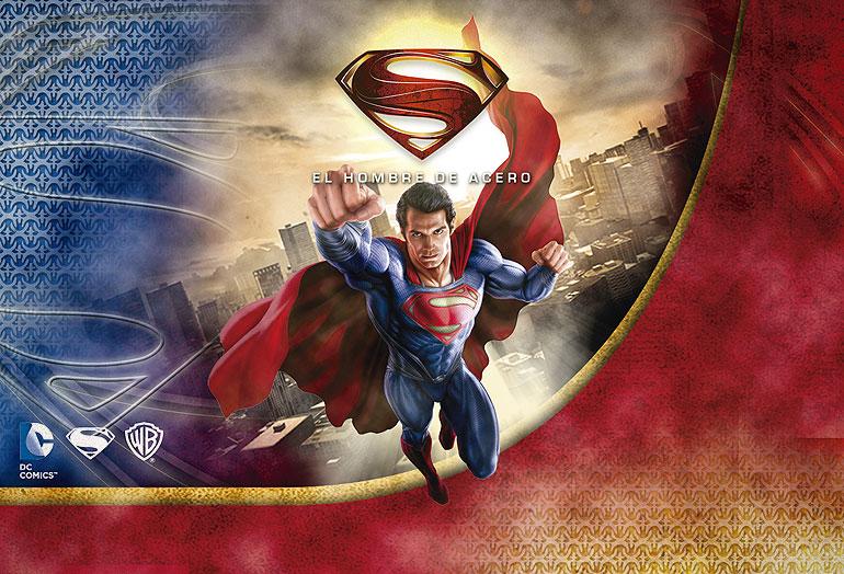 Imagen para packaging de superman