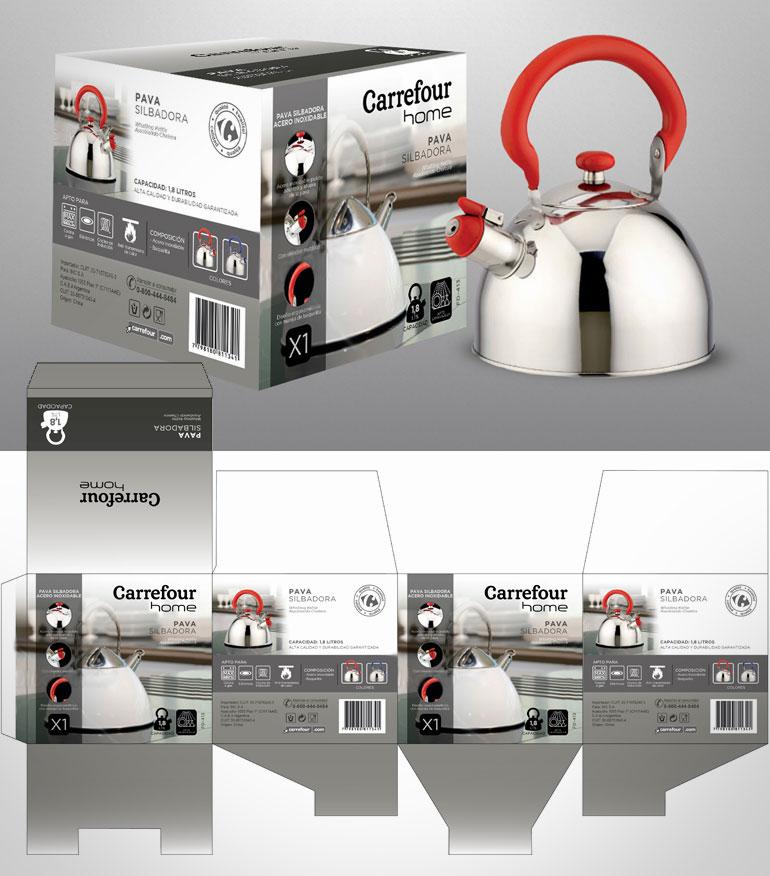 caja para pavas - Carrefour