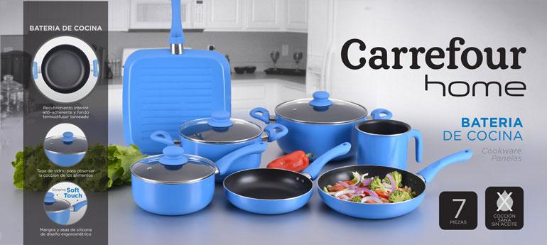 Carrefour Home - Batería de cocina