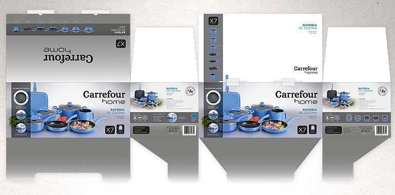 packaging Carrefour