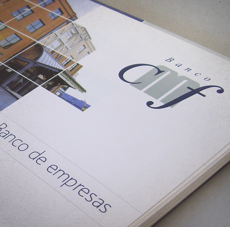 diseño de book corporativo para banco