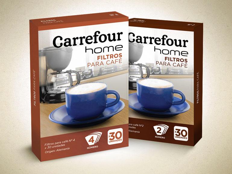 Envase filtros de café