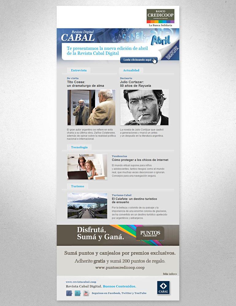 e-news mailing