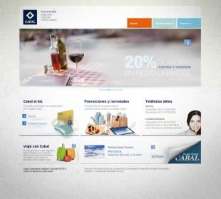 Diseño website Cabal