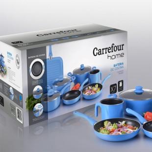 packaging batería de cocina - Carrefour