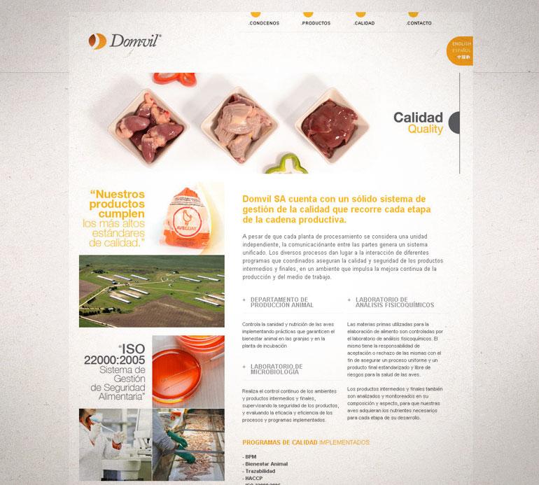sitio web diseño