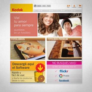 Website para imprimir fotolibros de Kodak