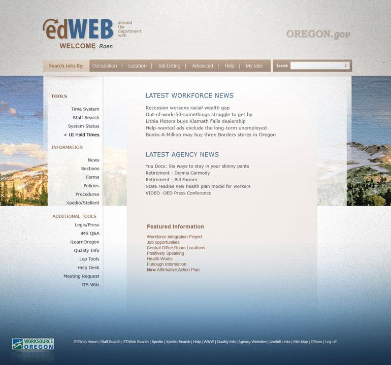 Diseño de entorno web